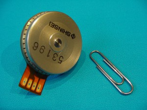 One of the commercial pizeo motors refitted and used in MIDAS