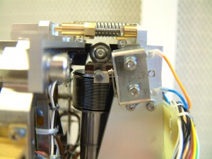 The coarse approach mechanism used to move the MIDAS AFM into contact with the sample